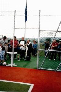 inaugurazione campetto calcetto