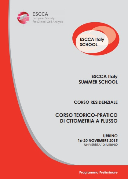 Summer School Citometria 16-20 novembre 2015