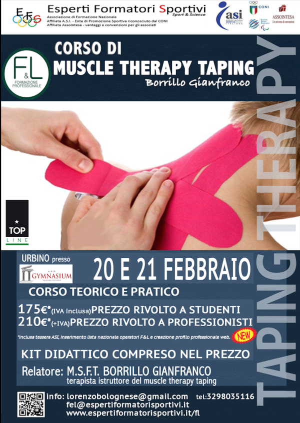 Taping Therapy 20-21 febbraio 2016